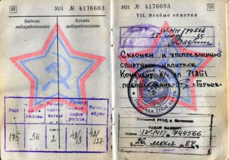 Что такое ВУС в военном билете