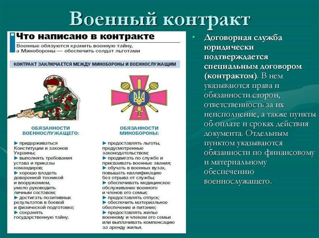 Военная служба по контракту в Москве