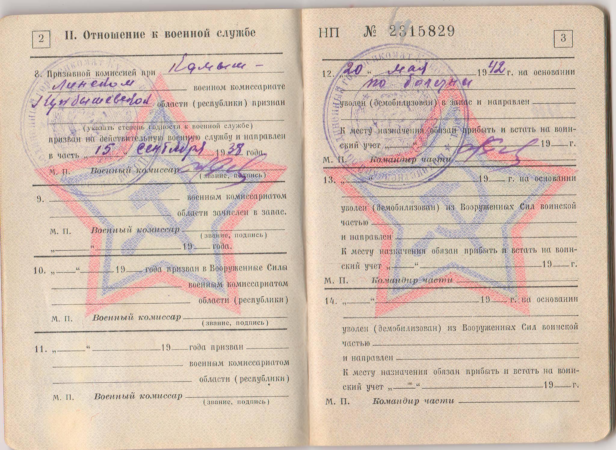 Как изменить статью в военном билете