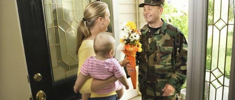 Как предоставляется отпуск женам военнослужащих