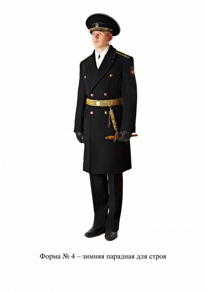 Форма одежды военнослужащих армии России