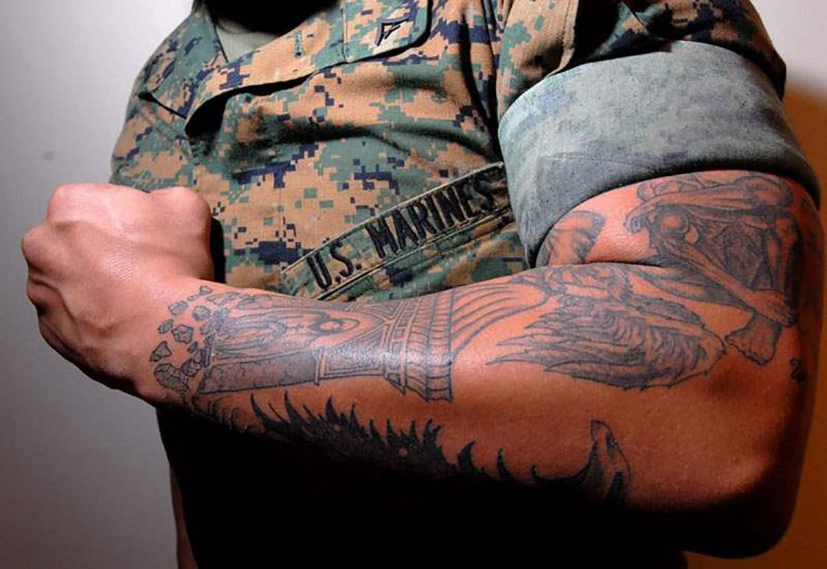 Берут ли сейчас в армию с татуировками: разбираемся в вопросе
