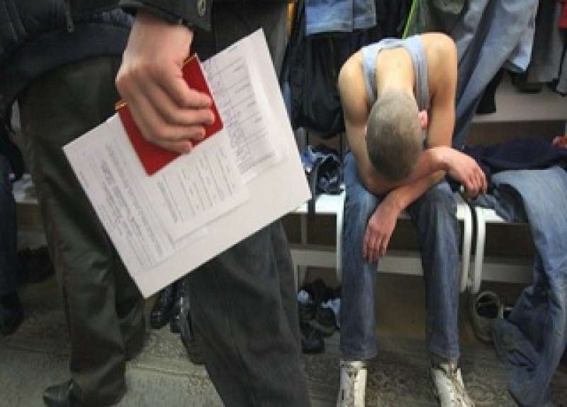 Последствия уклонения от армии, штрафы и статьи