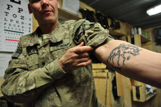 Особенности призыва в армию с татуировками
