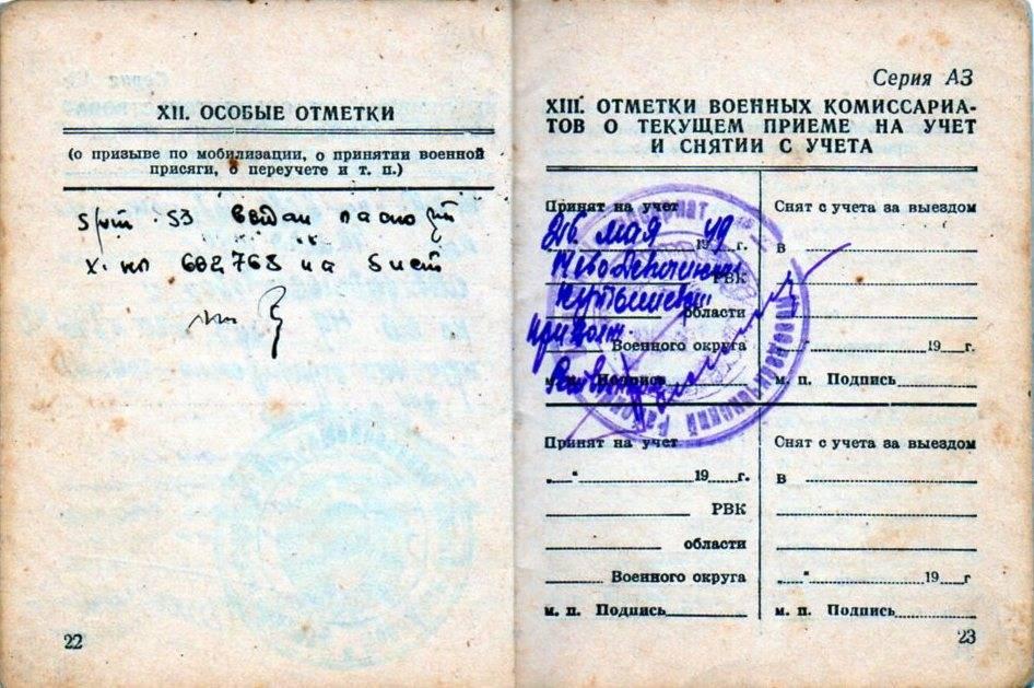 Расшифровка содержания статьи 19 в военном билете