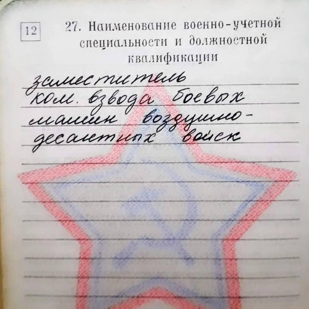 Расшифровка пунктов статьи 7Б в военном билете