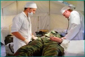 Призыв в армию с мочекаменной болезнью