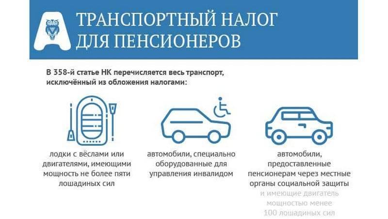 Льготы на транспортный налог у военных пенсионеров