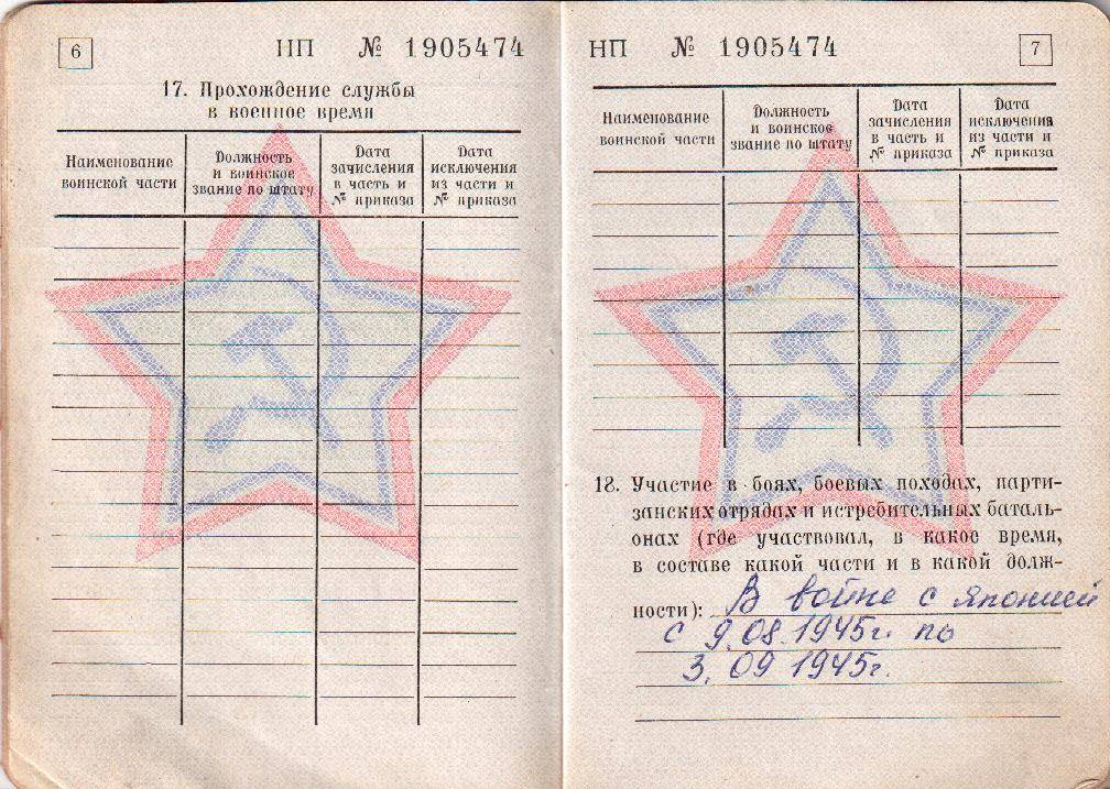 Получение электронного военного билета