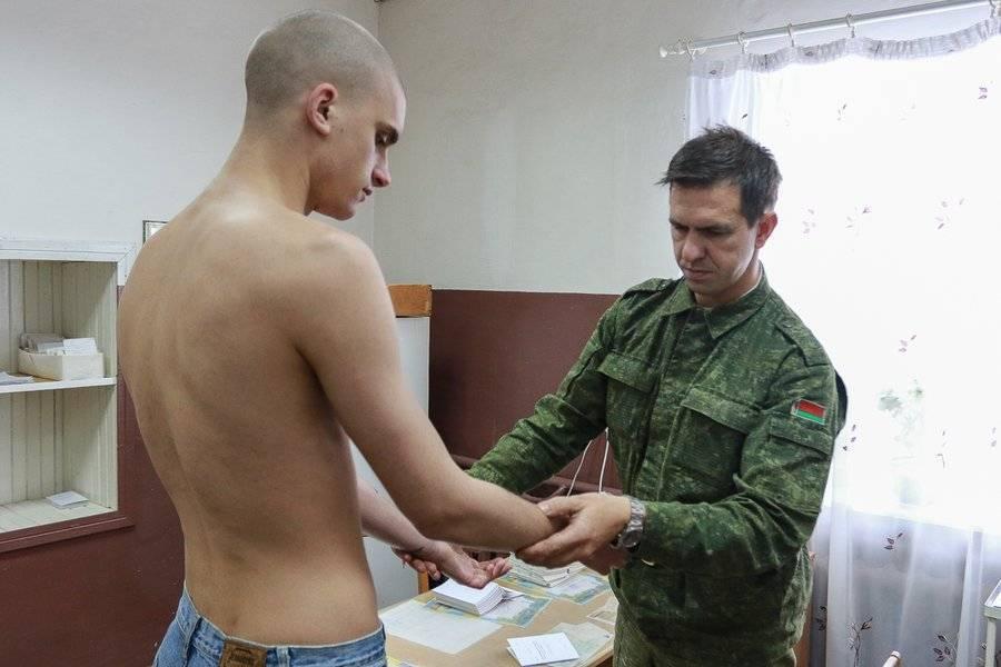 Вручение взятки в военкомате для освобождения от армии