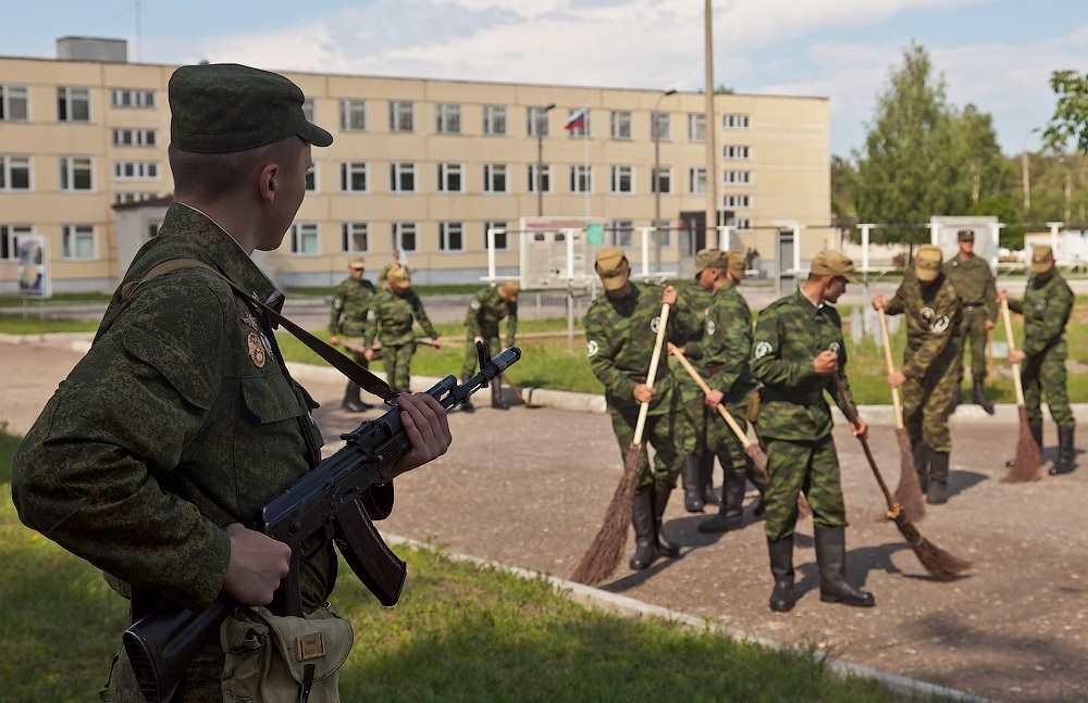 Гауптвахта в армии