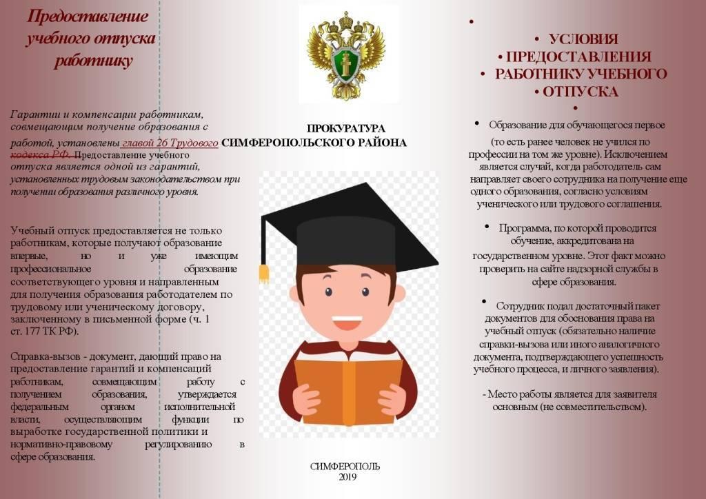 Право военнослужащего на учебный отпуск