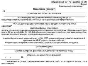 Правила подачи рапорта на поднаем жилья военнослужащим