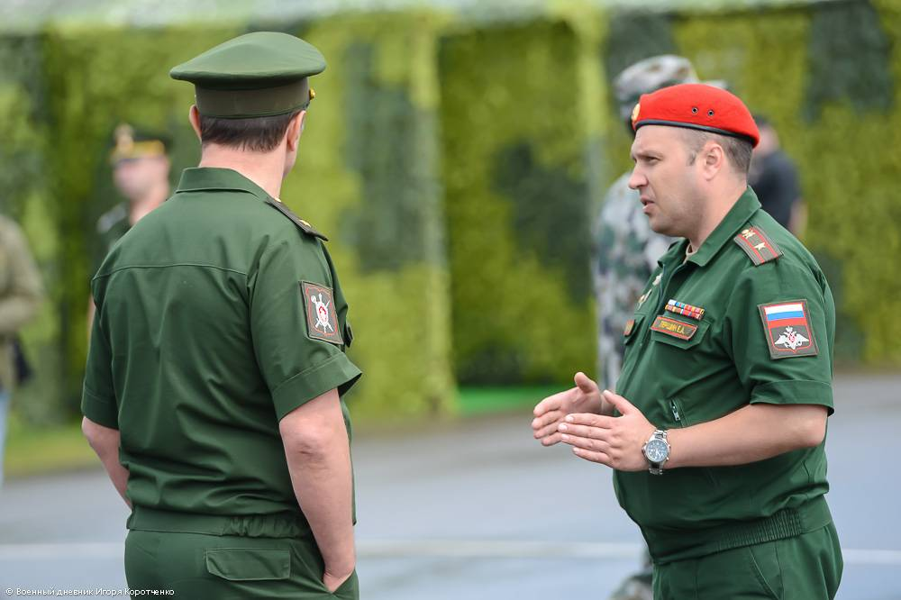 Служба по контракту в военной полиции