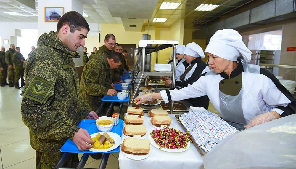 Рацион и режим питания в армии России