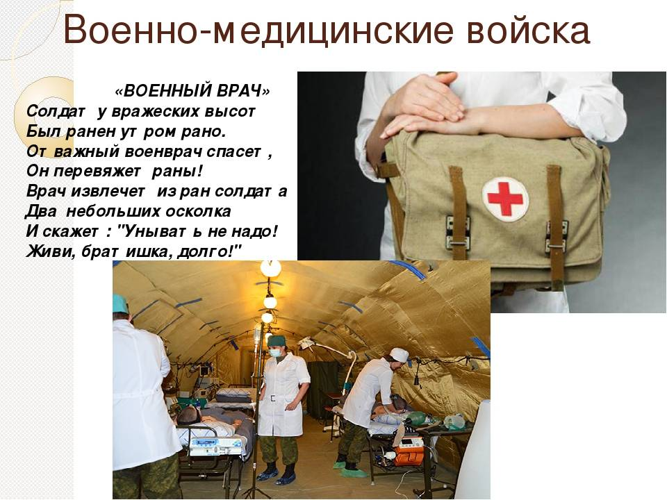 Подготовка военных врачей, плюсы и минусы профессии
