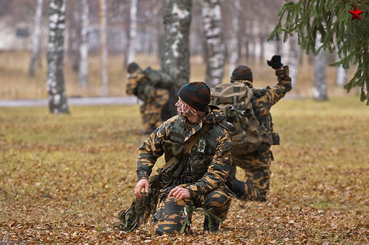 Служба по контракту в военной разведке