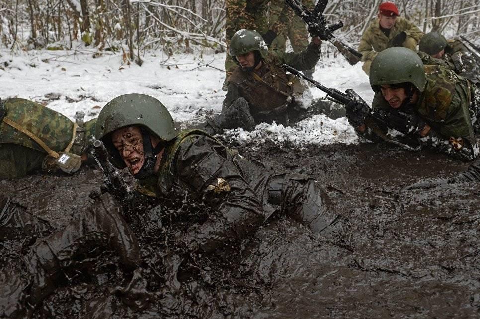 Применение оружия военнослужащими ВНГ России