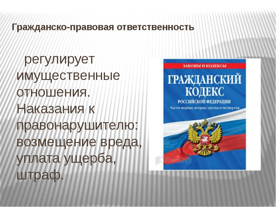 Ответственность военнослужащих в РФ