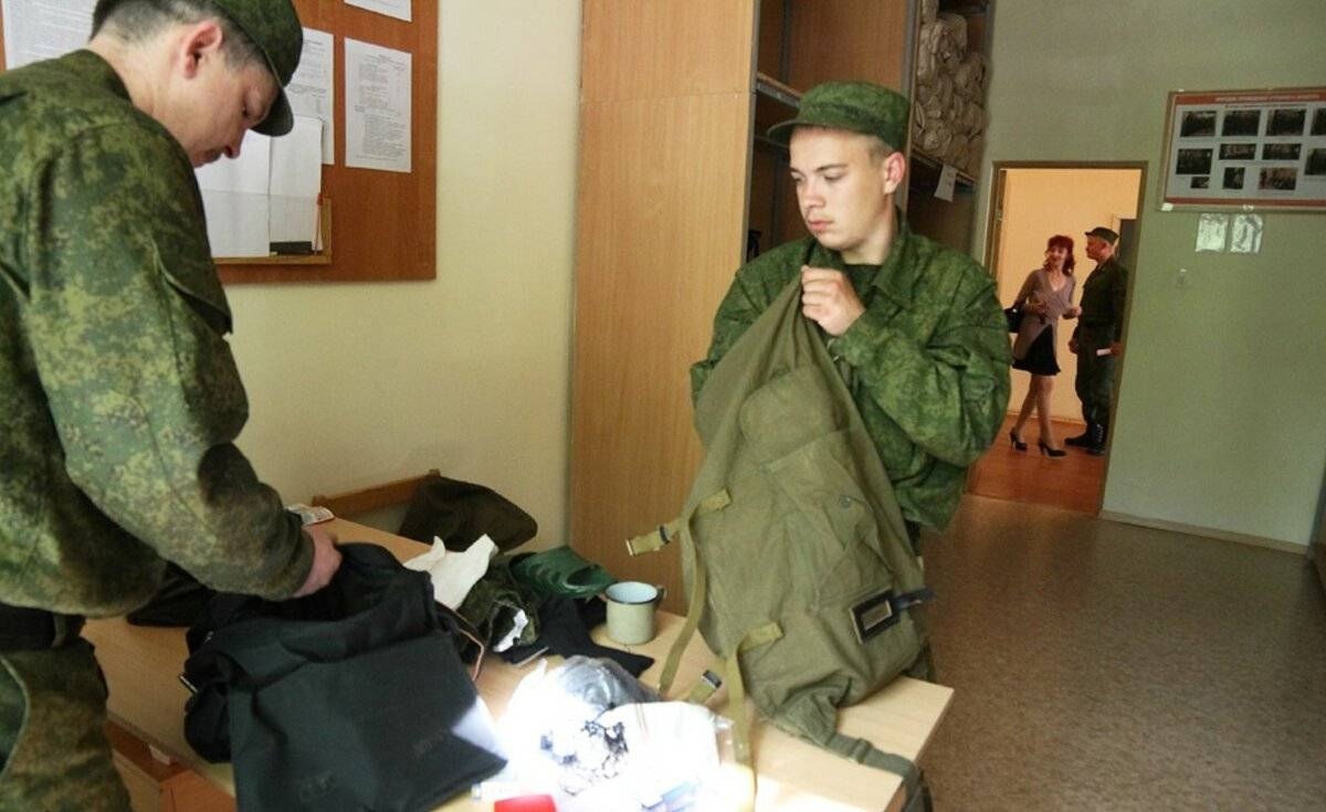 Как и когда забирают в армию после медкомиссии
