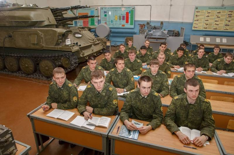 Военная кафедра в вузах