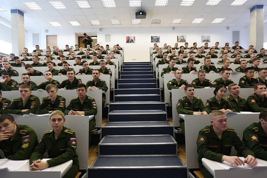 Вузы с военной кафедрой в Москве