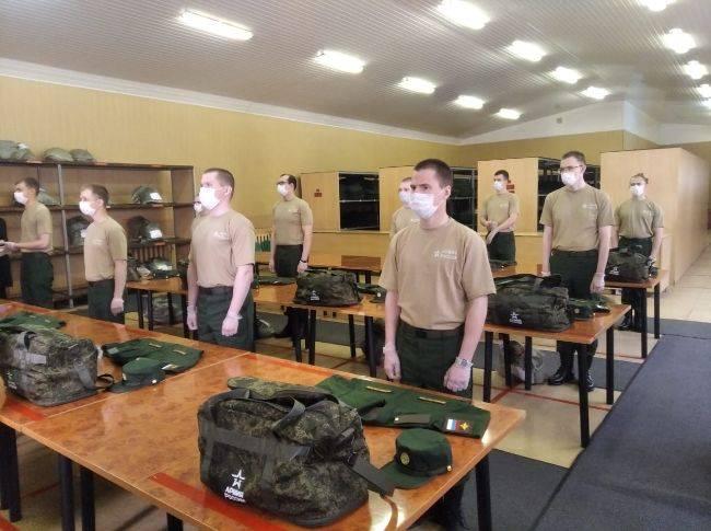 Летний призыв в армию во время коронавируса