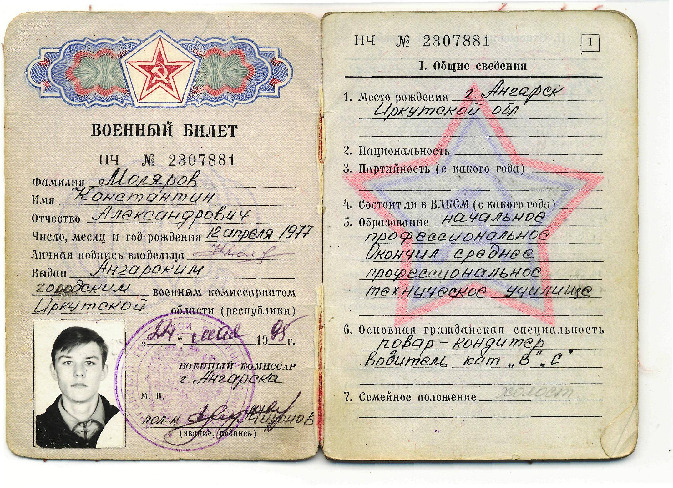 Получение военного билета после 27 лет: подводные камни