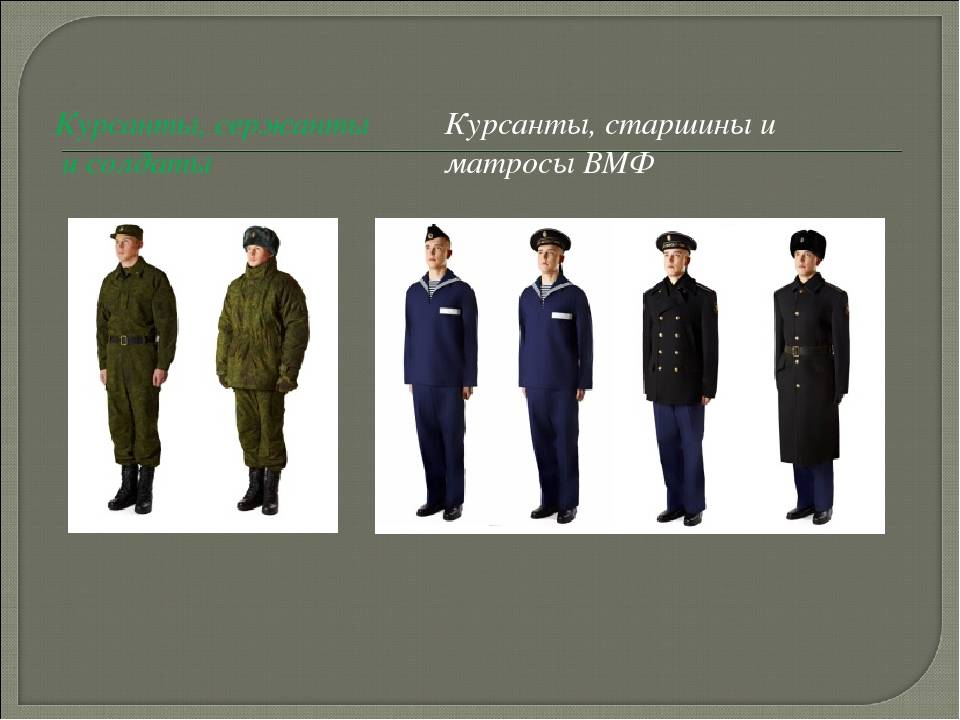 Офисная форма для военнослужащих