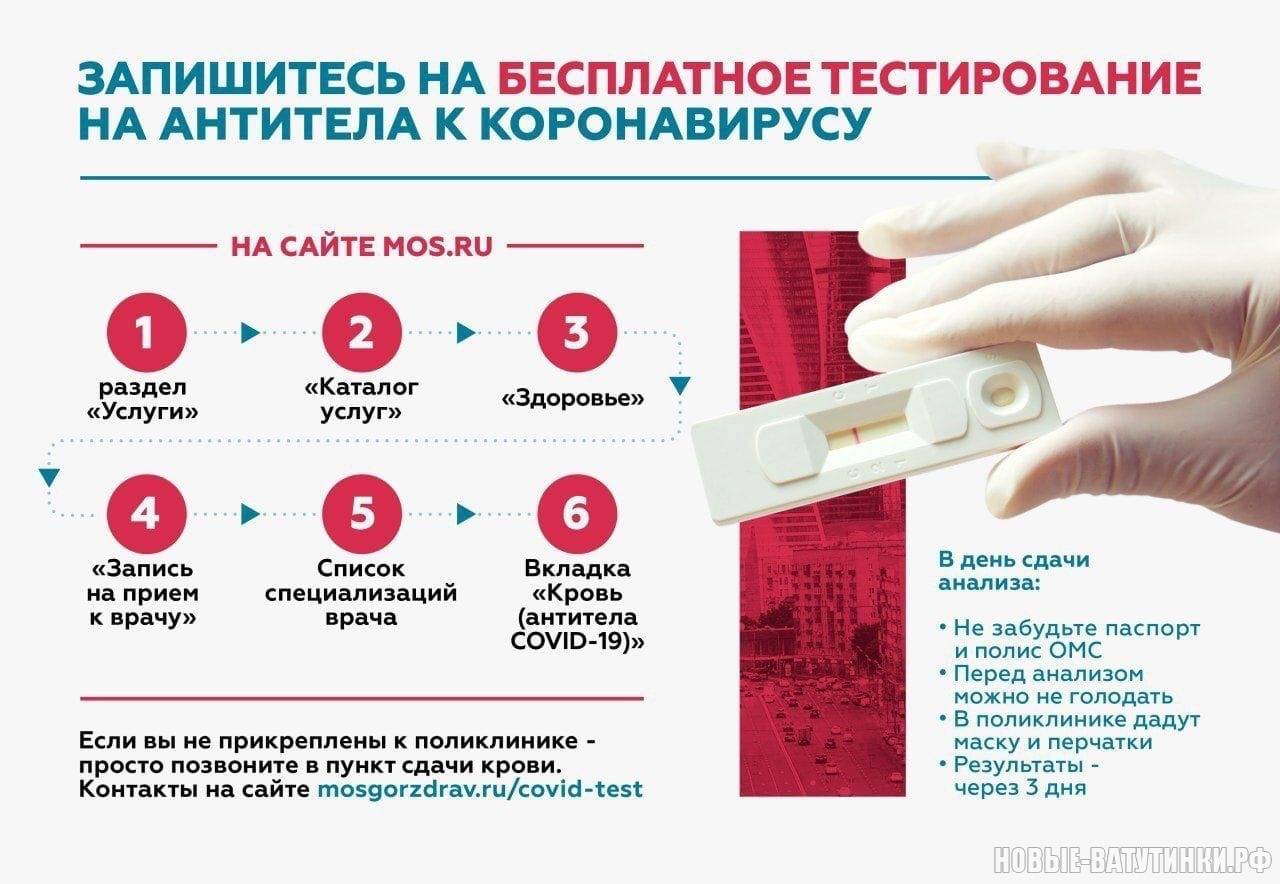 Тест на коронавирус в военкомате